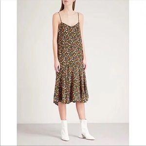 🌈FINAL $ DROP🌈Ganni Joycedale Silk Slip Dress